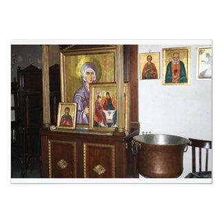 Convite religioso dos ícones
