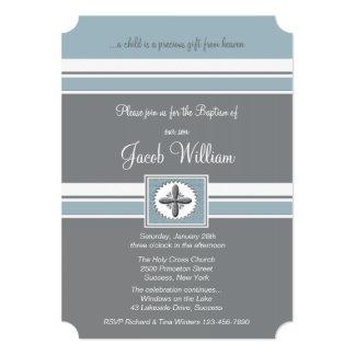 Convite religioso fiel da ocasião