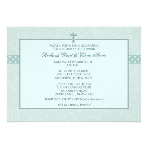 Convite religioso Revered de Paisley