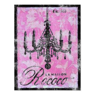 Convite Rococo do ~ de Maison do La