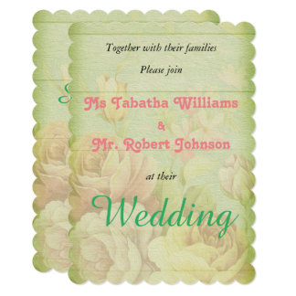 Convite rústico bonito do casamento do design