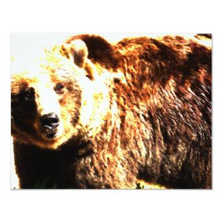 Convite selvagem do urso