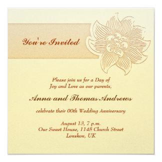 convite simples do aniversário de casamento