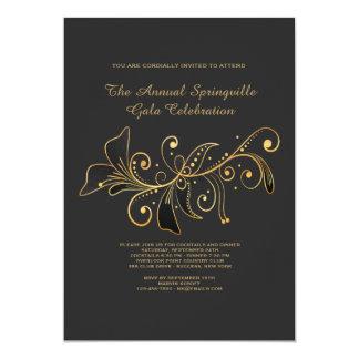 Convite simplesmente elegante