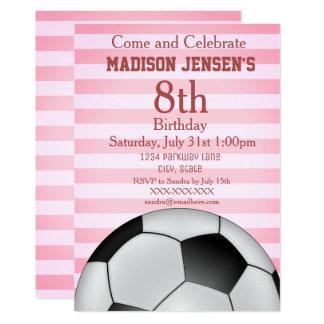 Convite temático do aniversário da menina dos