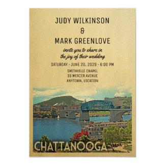 Convite Tennessee do casamento de Chattanooga