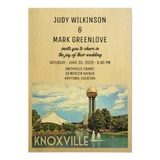 Convite Tennessee do casamento de Knoxville