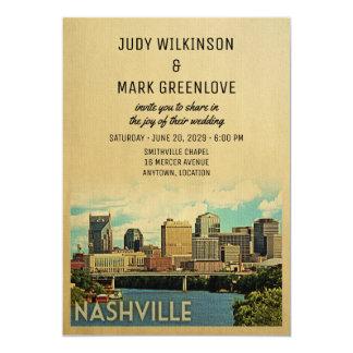 Convite Tennessee do casamento de Nashville