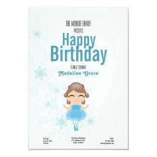 convite triguenho do aniversário da BAILARINA do