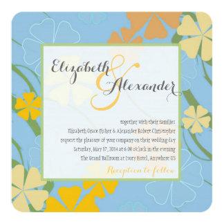 Convite tropical do casamento