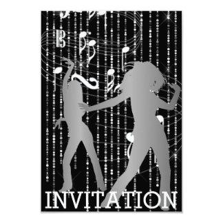 Convite urbano do Vip do clube de Hip Hop do