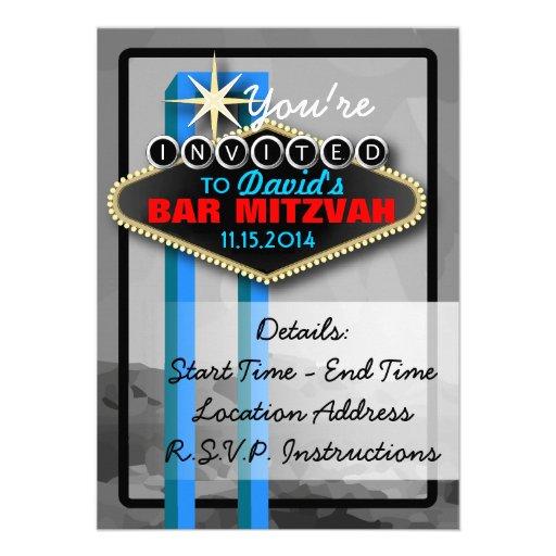 Convite Vegas-Temático customizável do evento