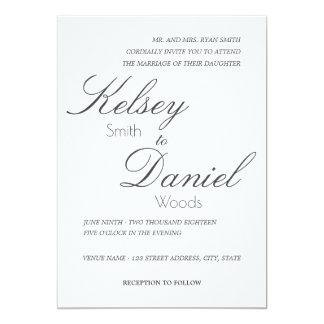 Convite | Wedding clássico & romântico