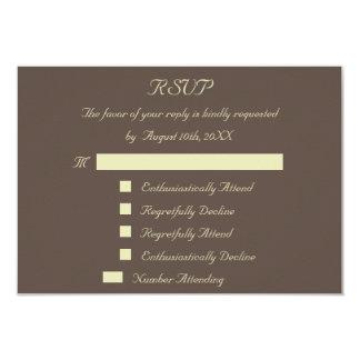 Convite Wedding feito sob encomenda da resposta