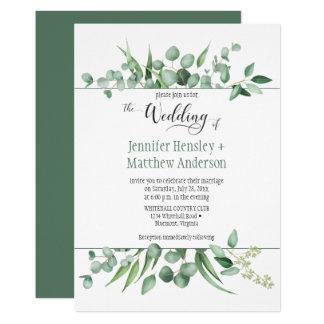 Convite Wedding quadro inveja do eucalipto