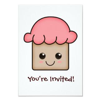 Convites adoráveis dos cupcakes