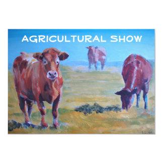 Convites agrícolas da mostra