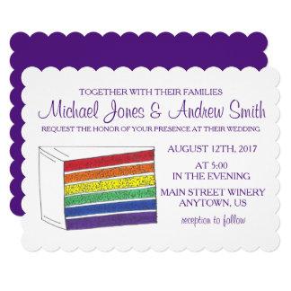Convites alegres feitos sob encomenda do casamento