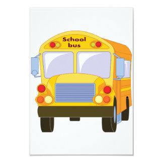 Convites amarelos do auto escolar