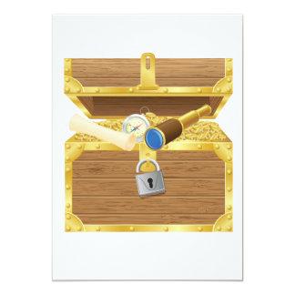 Convites antigos da arca do tesouro