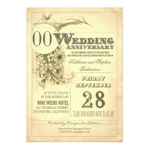 convites antigos do aniversário da tipografia