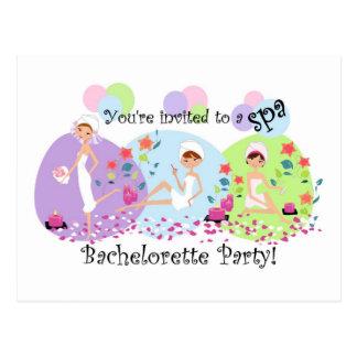 Convites bonitos do cartão dos termas da festa de