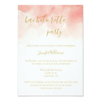 Convites cor-de-rosa da festa de solteira da