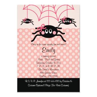 Convites cor-de-rosa do aniversário do Dia das