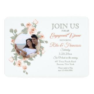 Convites crescentes cor-de-rosa da foto