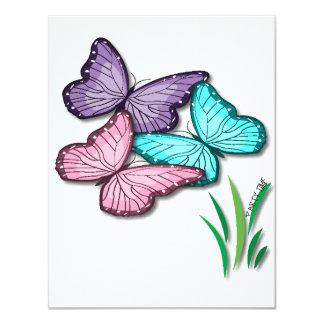 Convites da borboleta