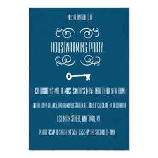 Convites da chave do partido do Housewarming