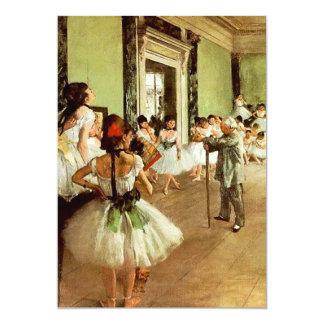 Convites da classe de dança
