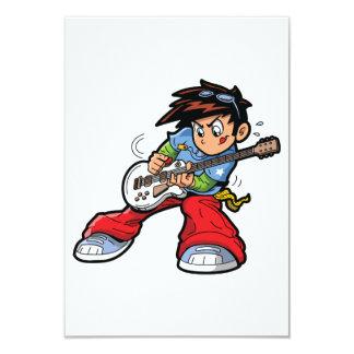 Convites da estrela do rock do Anime