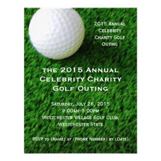 Convites da excursão do golfe