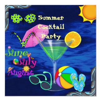 Convites da EXPLOSÃO do VERÃO da festa na piscina