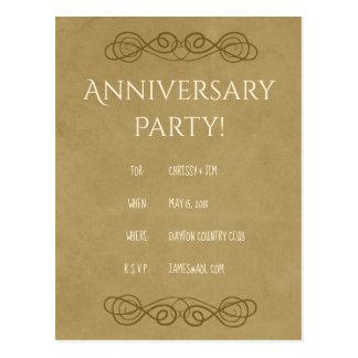 Convites da festa de aniversário