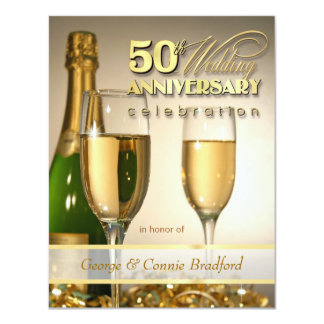 Convites da festa de aniversário do na moda 50th