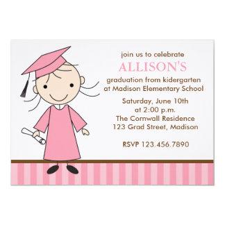 Convites da festa de formatura da menina