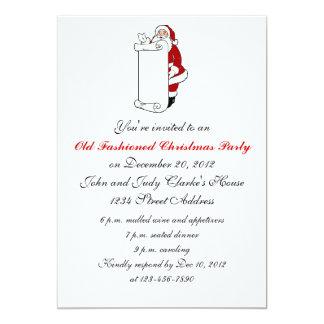 Convites da festa de Natal