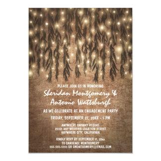Convites da festa de noivado da árvore de