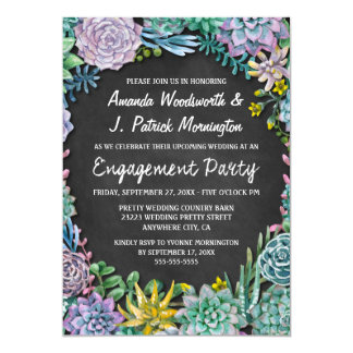 Convites da festa de noivado do quadro do