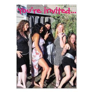 Convites da festa de solteira