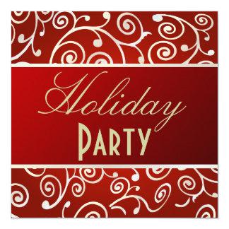 Convites da festa natalícia, redemoinhos dos