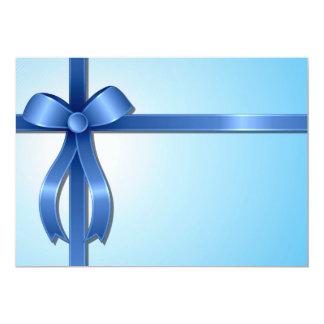 Convites da fita azul