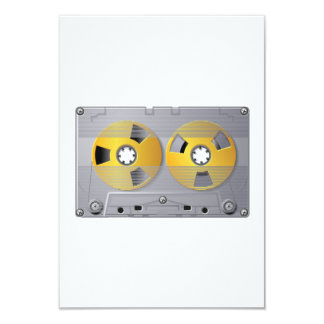 Convites da fita da cassete áudio