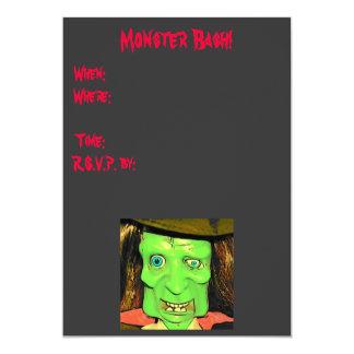 Convites da foto da festança do monstro