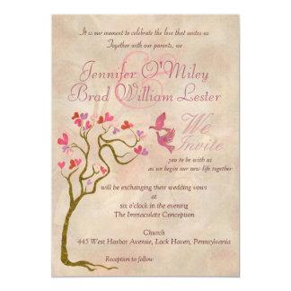 Convites da foto do modelo do casamento