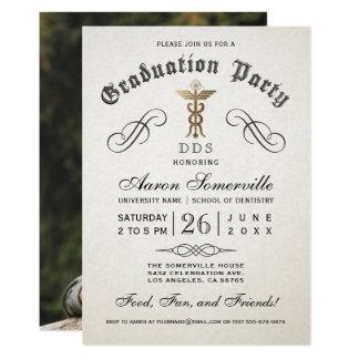 Convites da graduação da escola da odontologia