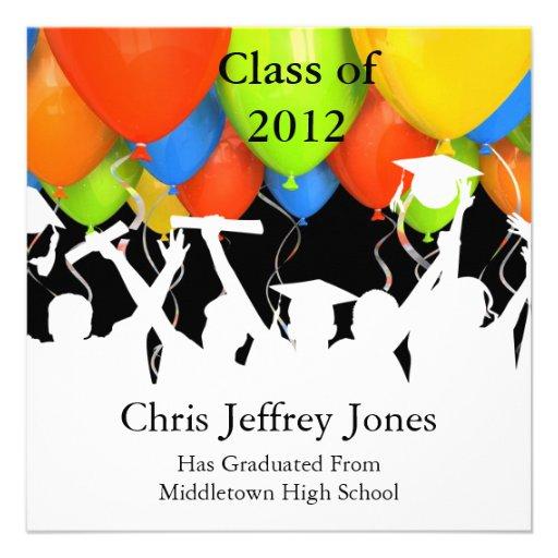Convites da graduação da escola novos