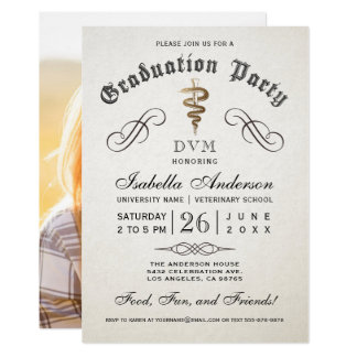 Convites da graduação da escola veterinária